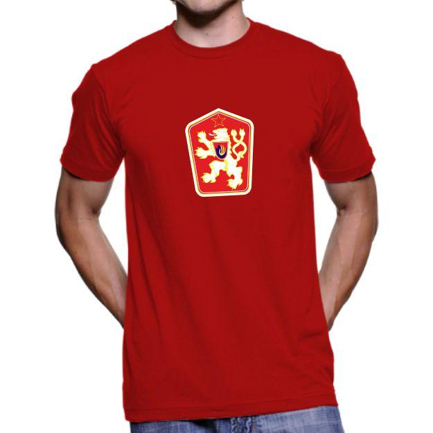 012 Tričko BA národní RETRO ČSSR red  3f5ec03383