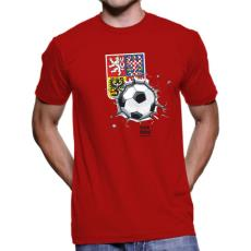 014 Tričko BA CZECH FOTBAL red