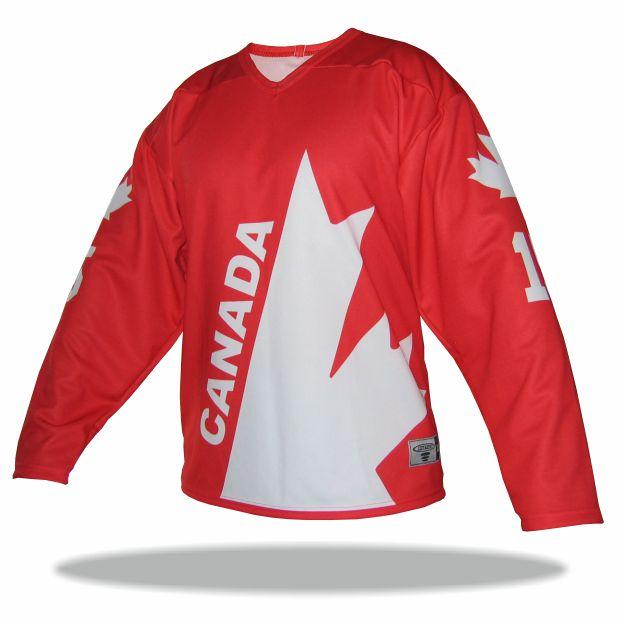 Atletico - Retro dres CANADA 76 červený