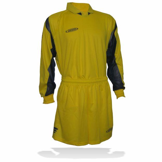 Atletico - Set FRANCE žluto-modrý S 13ks + M 2ks