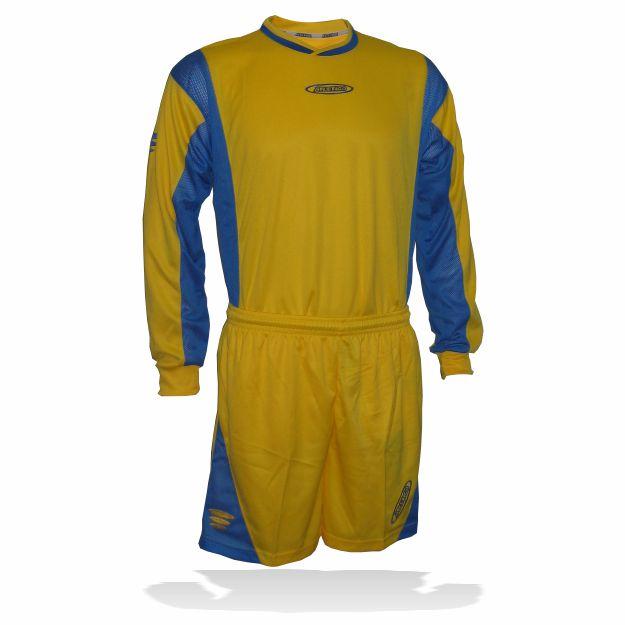 Atletico - Set PAKO žluto-modrý XS 11ks